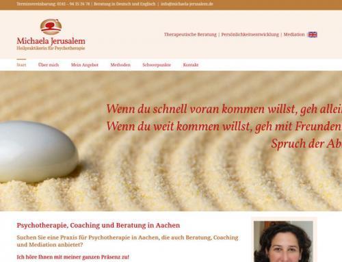 Michaela Jerusalem, Heilpraktikerin für Psychotherapie (Aachen)
