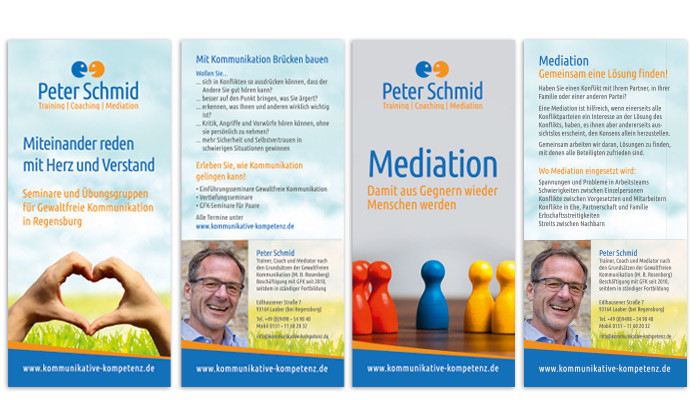 Peter Schmid Mediaton, Trainings und Seminare