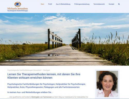 Michaela Jerusalem Psychologische Fachfortbildungen (Aachen)