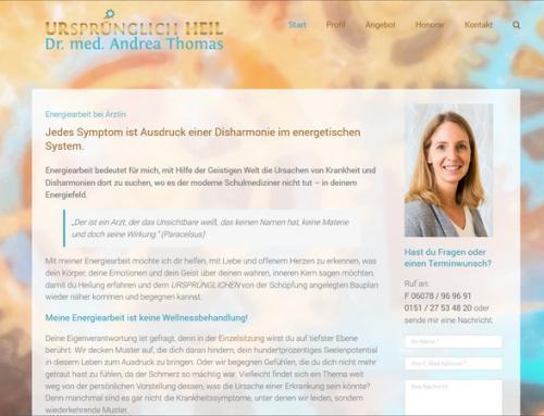 Dr. med. Andrea Thomas, Energiearbeit und Traumabehandlung (Babenhausen)
