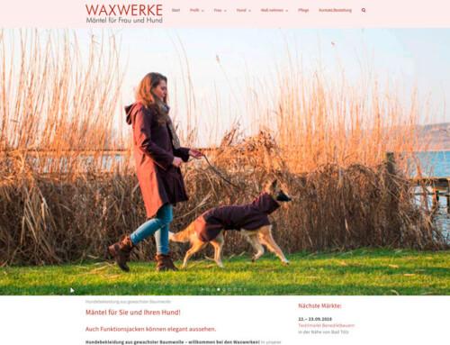 WAXWERKE – Mode für Frau und Hund