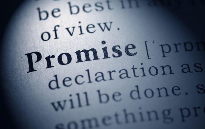 Heilversprechen
